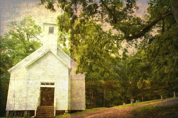Wall Art - Photograph - Church In The Clearing by Alice Gipson