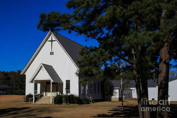 Photograph - Church In The Pines by Jim McCain