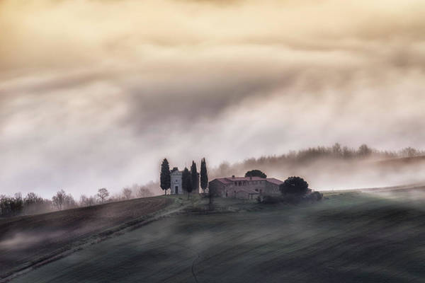 Church Photograph - Church In The Sky !! by Luca Vescera