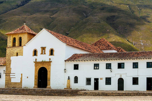 Boyaca Photograph - Church In Villa De Leyva by Jess Kraft