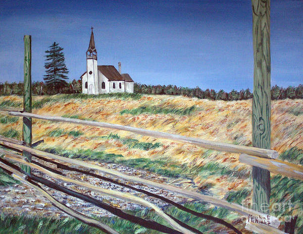 Painting - Church Meadow by Marilyn  McNish