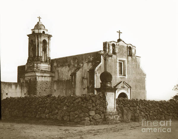 Photograph - Church Mexico Circa 1900 by California Views Archives Mr Pat Hathaway Archives