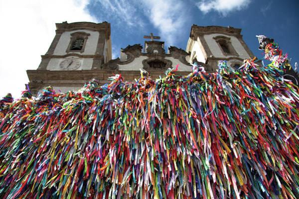 Bahia Photograph - Church Of Nosso Senhor Do Bonfim by Romulo Rejon