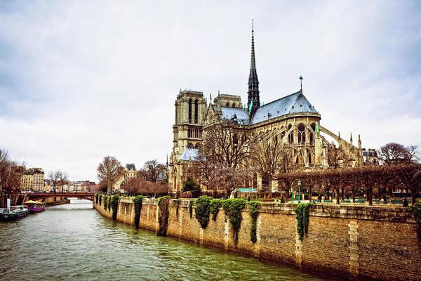 High Dynamic Range Imaging Photograph - Church Of Notre Dame In Paris by Zodebala