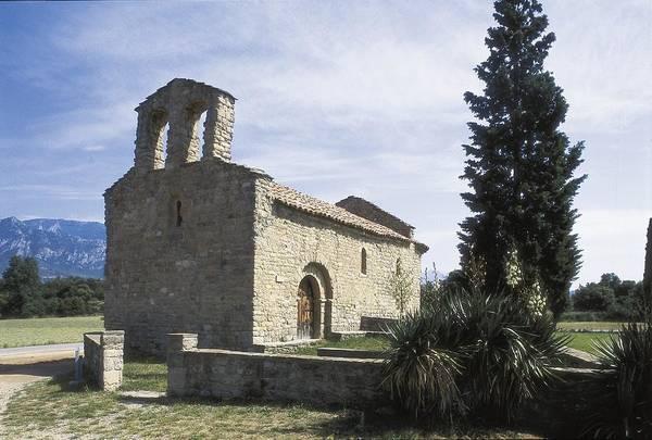 Church Of Saint Mary. 12th C. Spain Art Print