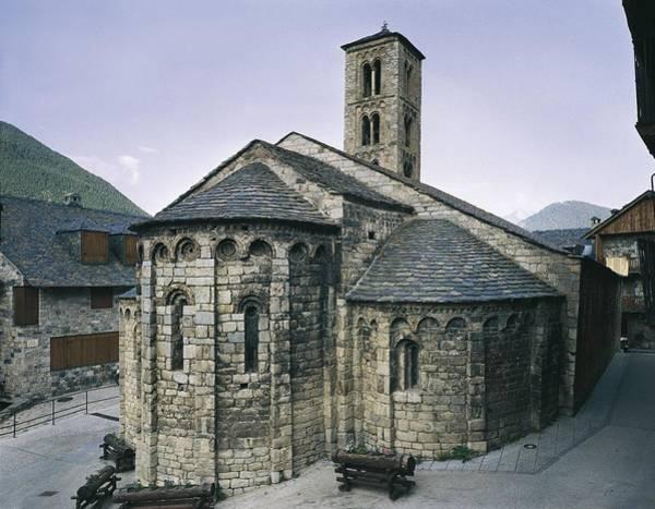 Church Of Santa Maria De Ta�ll. Ca Art Print