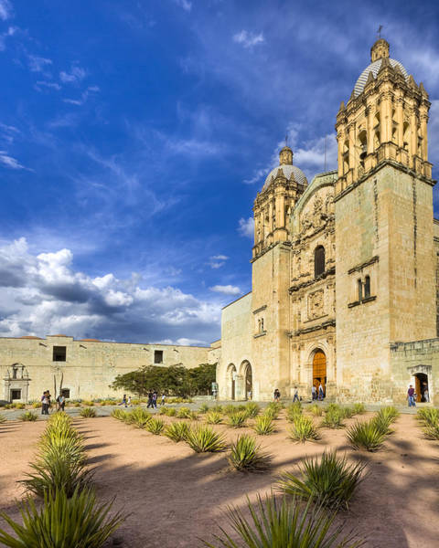 Photograph - Church Of Santo Domingo De Guzman In Oaxaca by Mark Tisdale