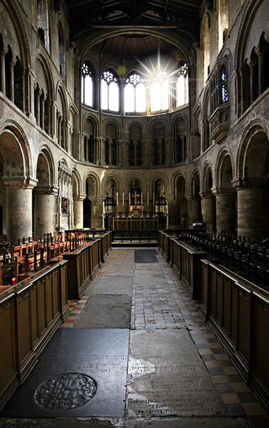 Funeral Photograph - Church Of St Bartholomew The Great by Stephen Stookey