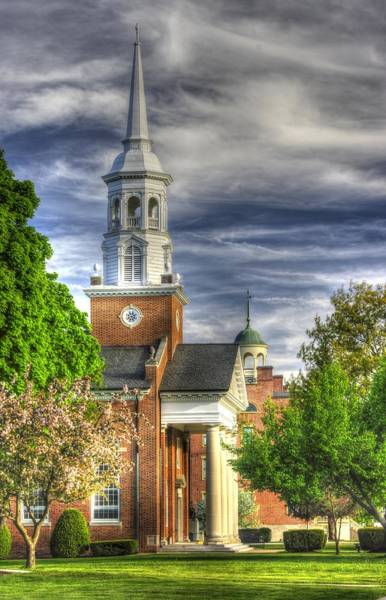 Wall Art - Photograph - Church Of The Abiding Presence 1a - Lutheran Theological Seminary At Gettysburg Spring by Michael Mazaika