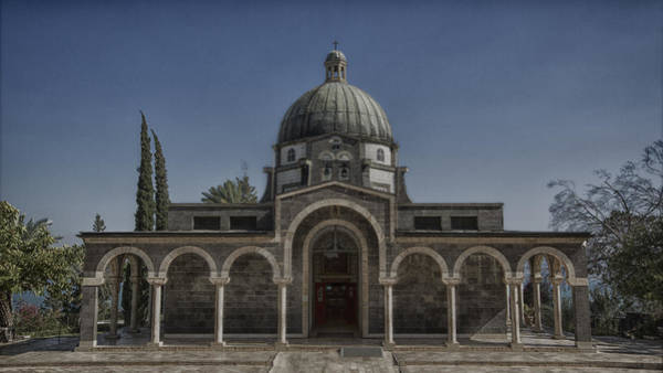 Church Of Jesus Christ Photograph - Church Of The Beatitudes by Stephen Stookey