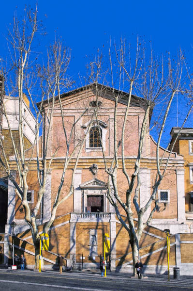 Photograph - Church Of The Capuchin Monks In Rome by Mark E Tisdale