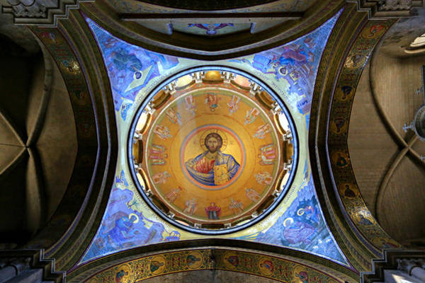 Church Of Jesus Christ Photograph - Church Of The Holy Sepulchre Catholicon by Stephen Stookey