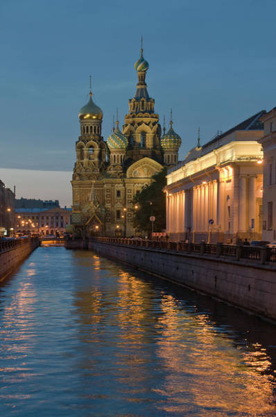 Travel Destinations Photograph - Church Of The Saviour On Spilled Blood by Izzet Keribar