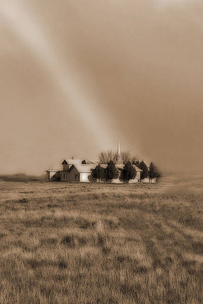 Photograph - Church On The Prairie by Frank Vargo