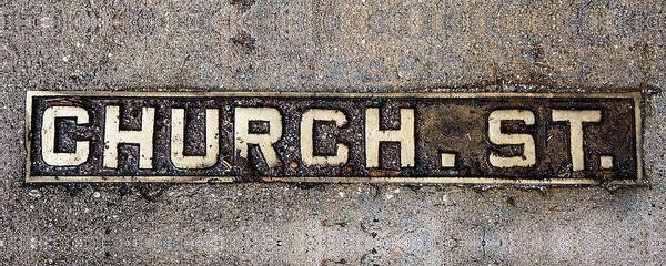 Church Street Art Print