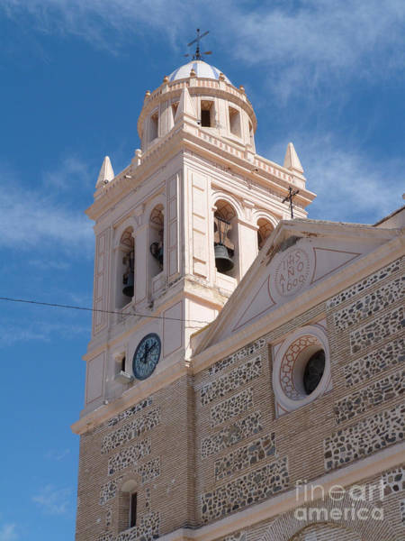 Photograph - Church Tower - Almunecar - Spain by Phil Banks