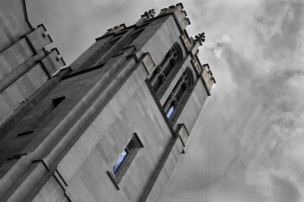Photograph - Church Tower by David Yocum