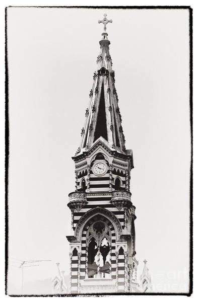 Photograph - Church Tower by John Rizzuto