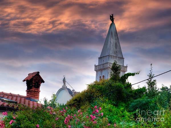 Losinj Photograph - Church Tower by Sinisa Botas