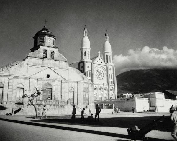 Group Of People Photograph - Churches In Haiti by Cecil Beaton