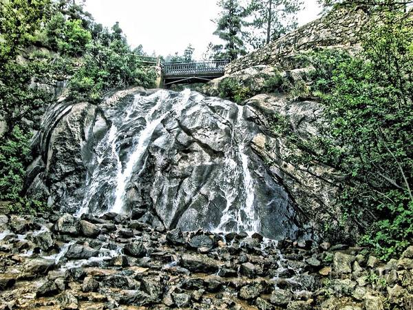 Helen Hunt Falls Photograph - Chyanne Canyon Waterfalls by Christina Perry
