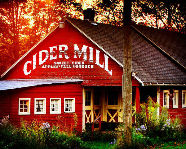 Photograph - Cider Mill by Val Stone Creager