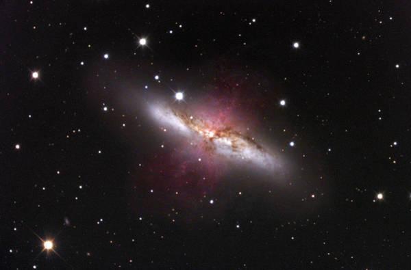 Ursa Major Photograph - Cigar Galaxy (m82) by Robert Gendler & Jim Misti/science Photo Library