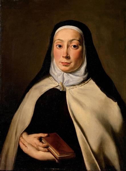 Wall Art - Photograph - Cignani Carlo, Portrait Of A Nun, 17th by Everett