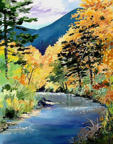 Painting - Cimarron Canyon by Adele Bower