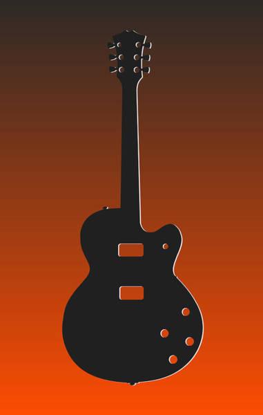 Bass Player Wall Art - Photograph - Cincinnati Bengals Guitar by Joe Hamilton