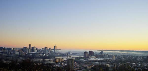 Cincinnati Dawn 2 Art Print