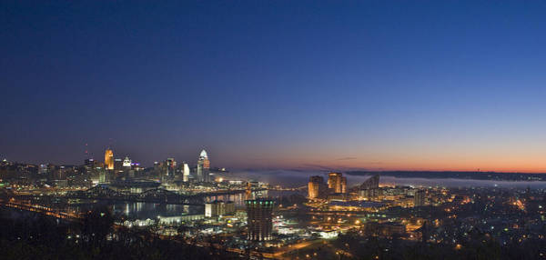 Photograph - Cincinnati Dawn by Rick Hartigan