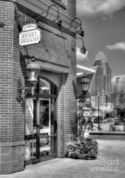 Photograph - Cincinnati Day Dreams Bw by Mel Steinhauer