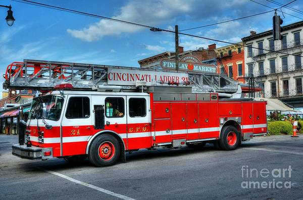 Findlay Market Photograph - Cincinnati Firehouse Food by Mel Steinhauer