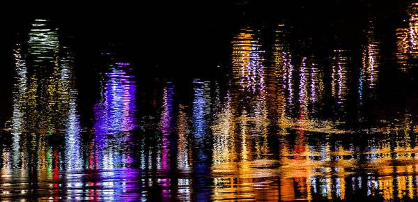 Photograph - Cincinnati In Reflection by Keith Allen