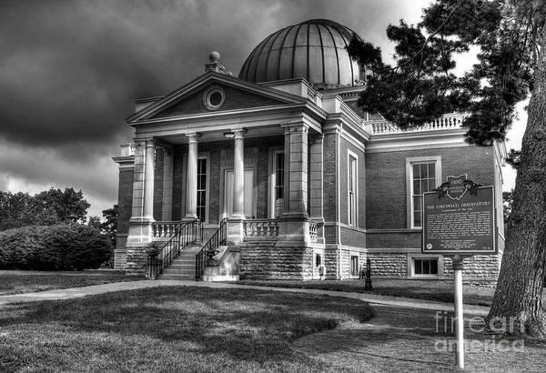 Photograph - Cincinnati Landmarks 2 Bw by Mel Steinhauer