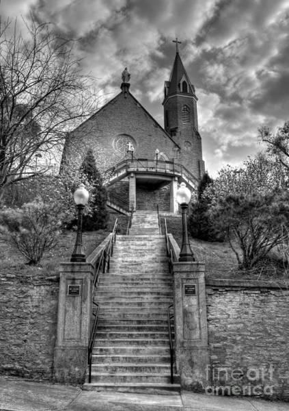 Photograph - Cincinnati Landmarks 5 Bw by Mel Steinhauer