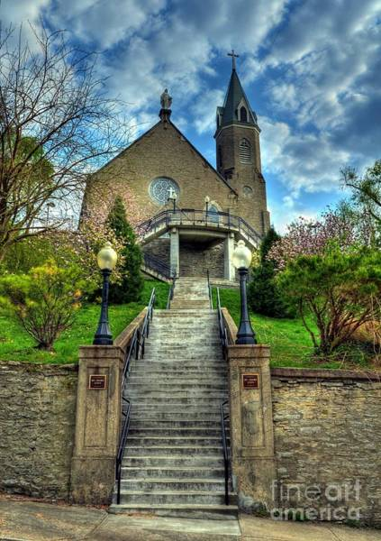 Mt. Adams Photograph - Cincinnati Landmarks 5 by Mel Steinhauer