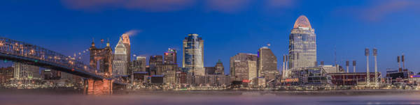 Photograph - Cincinnati Morning Twilight by Keith Allen