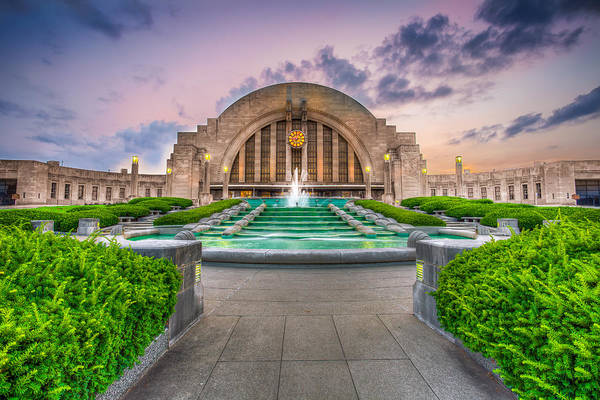 Photograph - Cincinnati Museum Center by Keith Allen