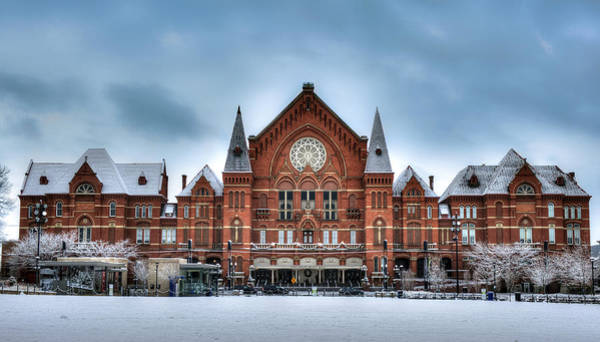 Photograph - Cincinnati Music Hall by Rick Hartigan