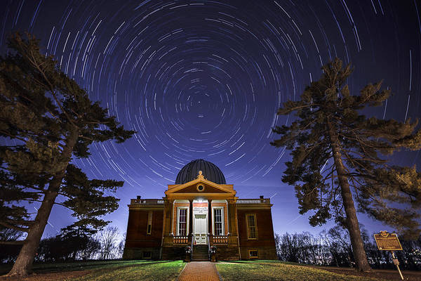 Photograph - Cincinnati Observatory by Keith Allen