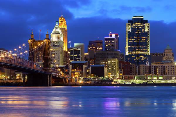 Ohio Photograph - Cincinnati, Ohio, Usa by Szaffy