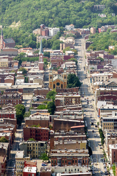 Otr Wall Art - Photograph - Cincinnati Over The Rhine Aerial Photo by Paul Velgos