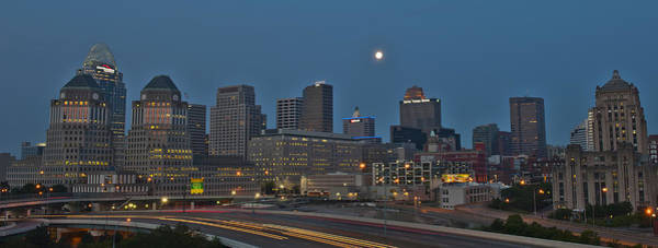 Photograph - Cincinnati Skyline From Mt. Adams by Rick Hartigan
