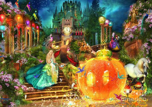 Mythological Photograph - Cinderella Variant 1 by MGL Meiklejohn Graphics Licensing