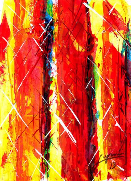 Painting - Cinders by Thomas Lupari