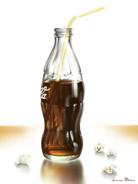 Coca Cola Painting - Cinema by Veronica Minozzi