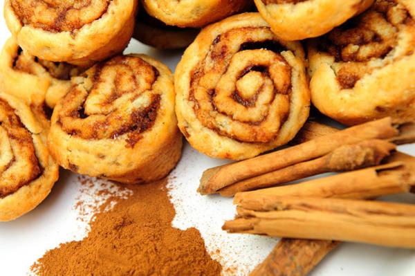 Cinnamon Buns Photograph - Cinnamon And Rolls by Don Bendickson