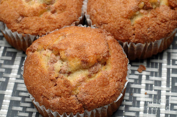 Photograph - Cinnamon Crunch Muffins 1 by Andee Design
